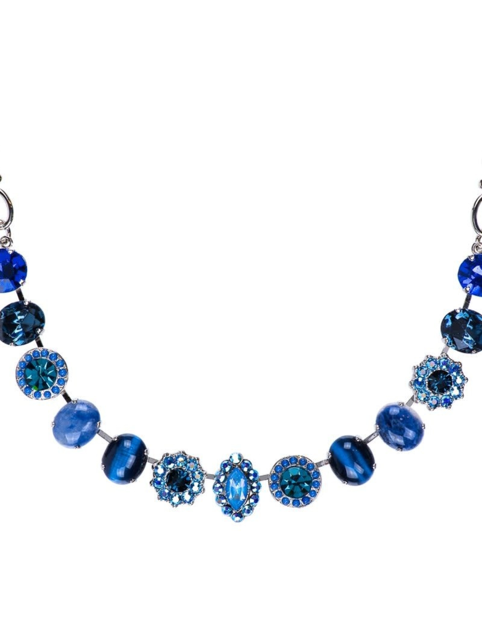 Mariana Oval Cluster Necklace Sleepytime