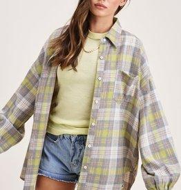 La Miel Pia Woven Kiwi Shirt