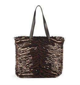 The Good Bead Poppins Carpet Bag -Animal Print