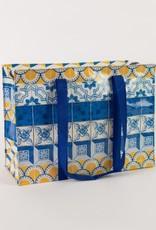 Blue Q Painted Tiles Shoulder Tote