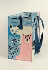 Blue Q Happy Cats Shoulder Tote