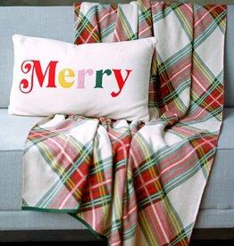 Shiraleah Boone Christmas Throw Blanket