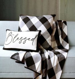 Shiraleah Blessed Throw Pillow