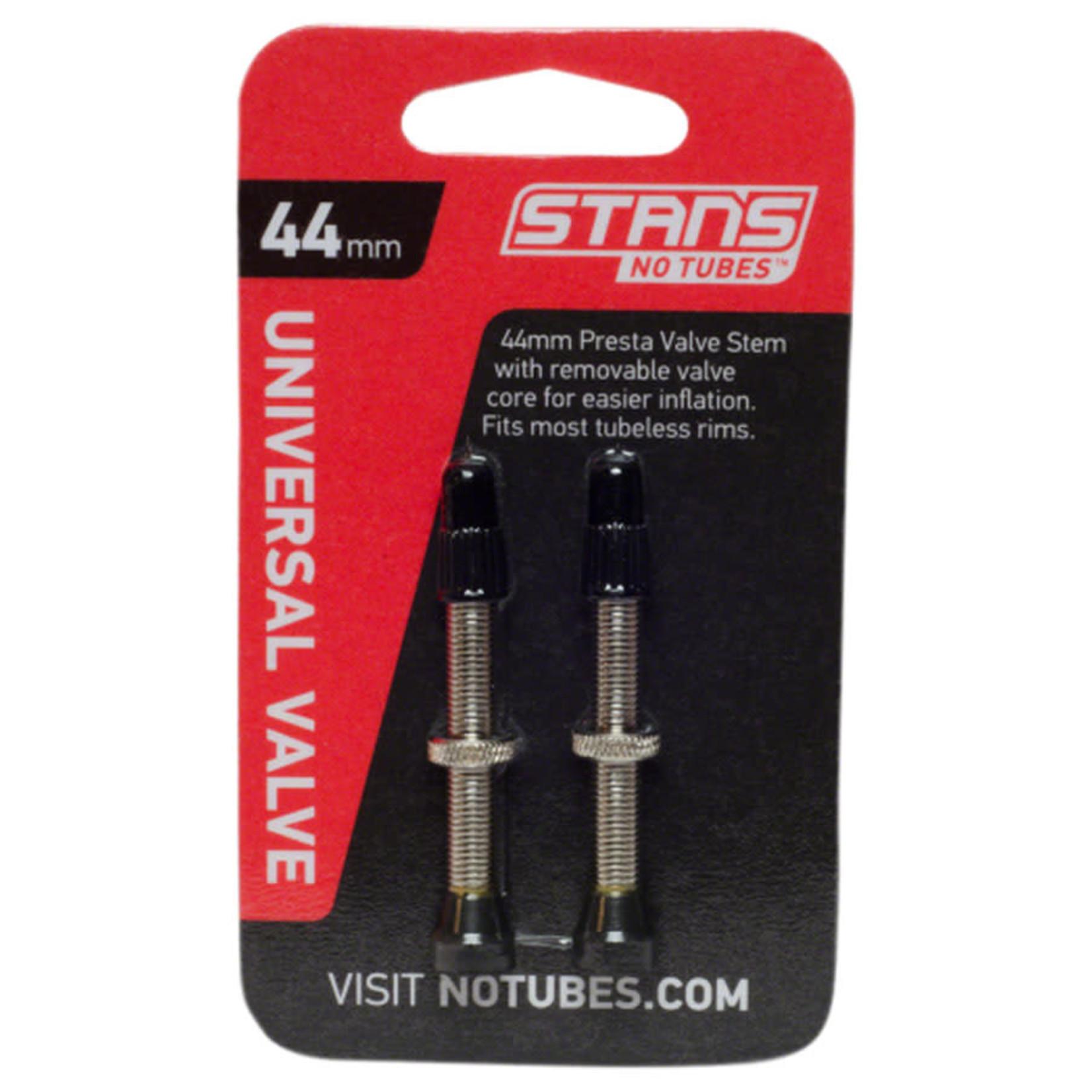 Stan's No Tubes Stan's NoTubes Brass Valve Stems - 44mm, Pair