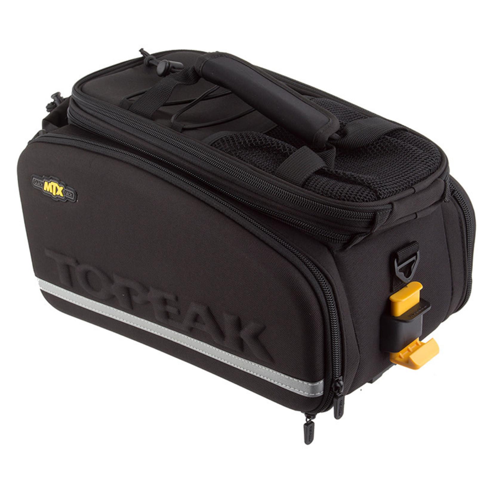 Topeak Topeak MTX TrunkBag DXP Rack Bag with Expandable Panniers: 22.6 Liter, Black