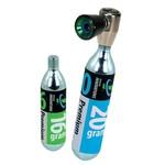 Genuine Innovations Air Chuck Elite Inflator: Includes 16gram and 20gram CO2 Cartridge