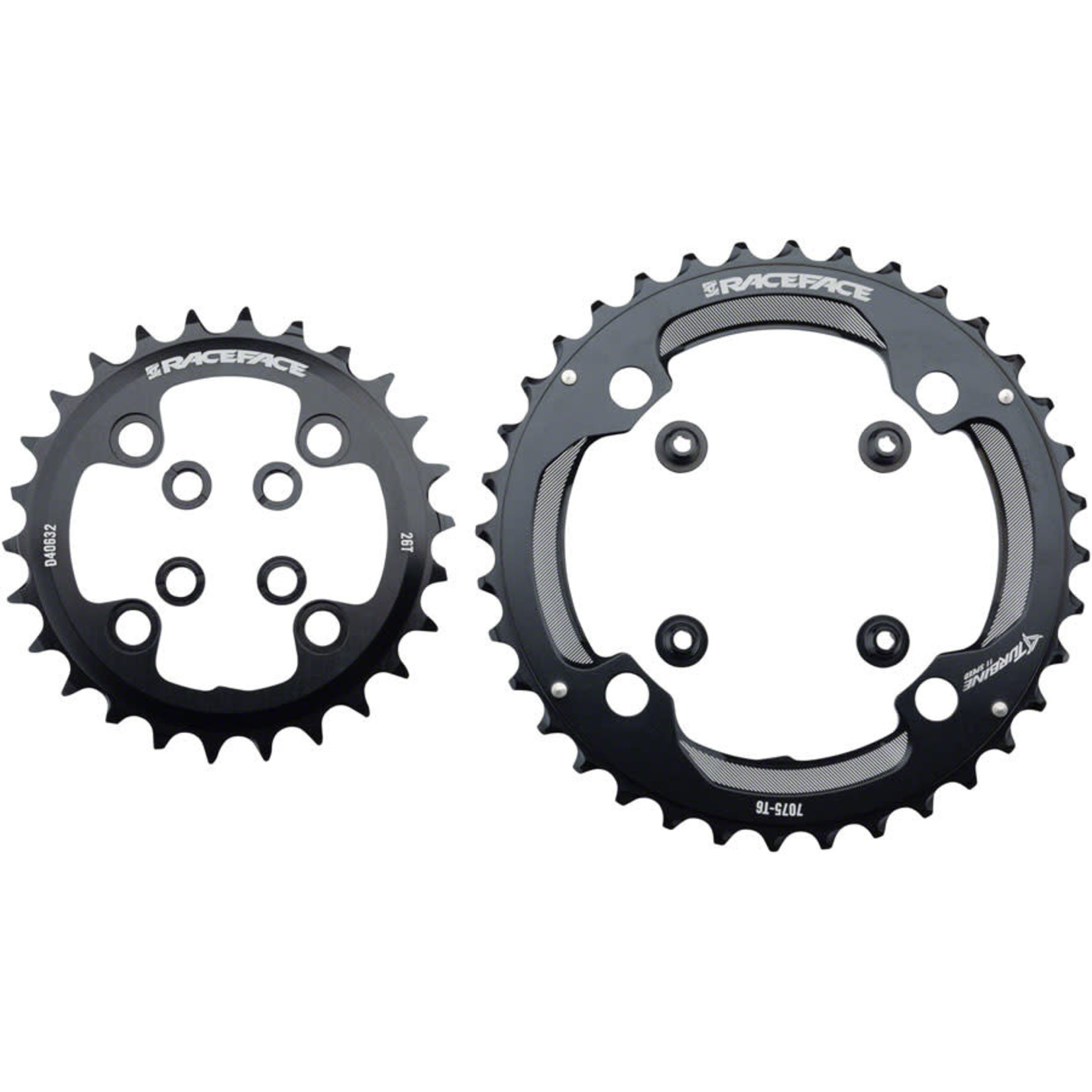 Race Face Race Face Turbine 11-Speed Chainring Set - 64/104mm BCD - 26/36t