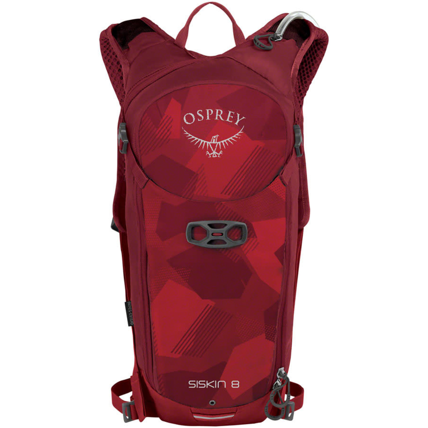 Osprey Siskin 8 Hydration Pack - Molten Red