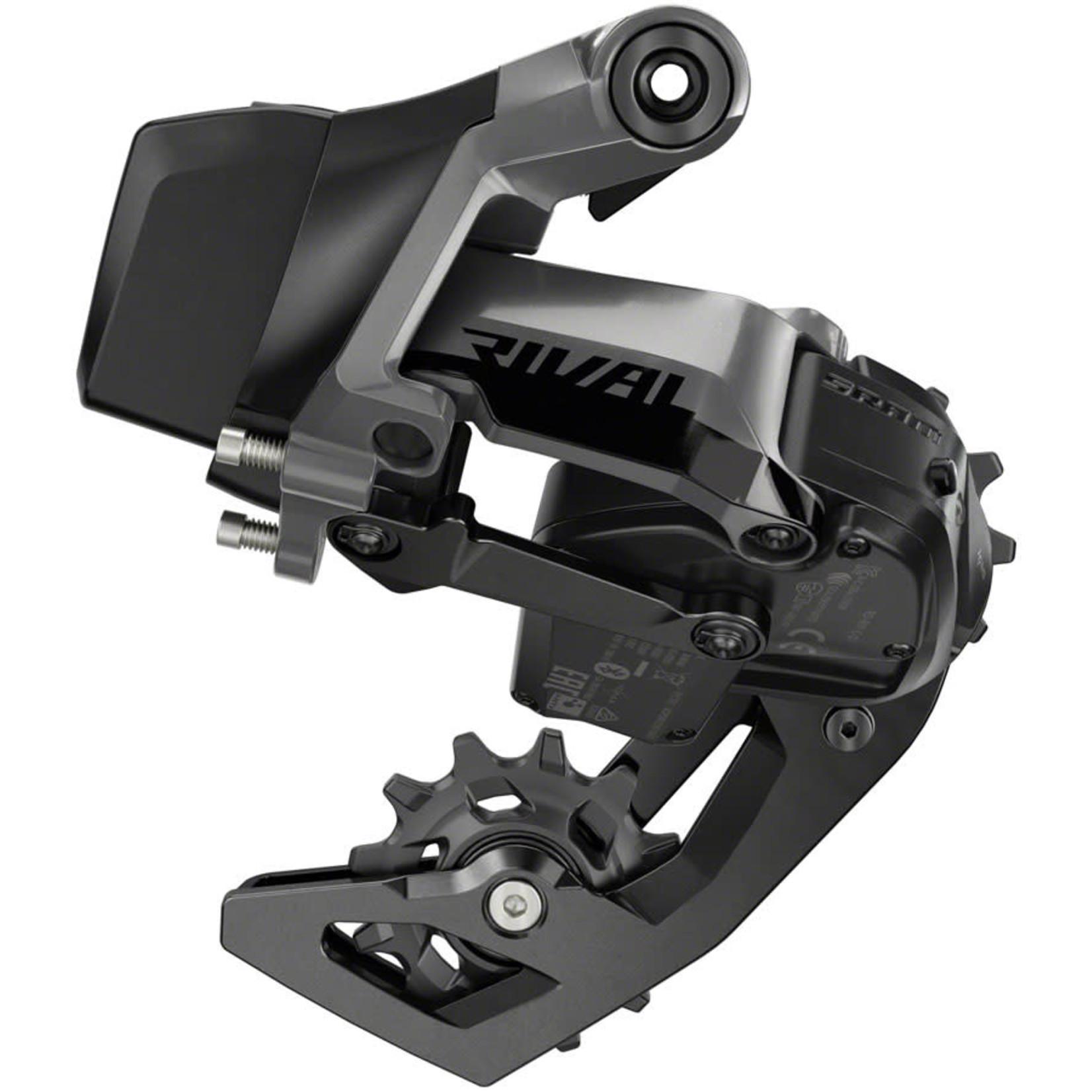 SRAM SRAM Rival eTap AXS Rear Derailleur - 12-Speed - Medium Cage - D1