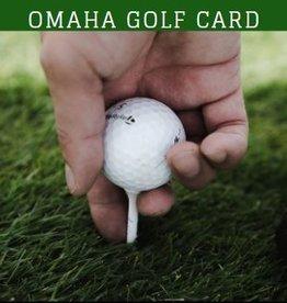Omaha Golf Card 2021