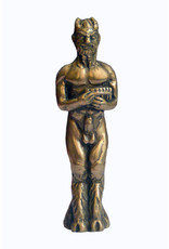 Pocket Pan Statue in Cold Cast Bronze by Jeff Cullen