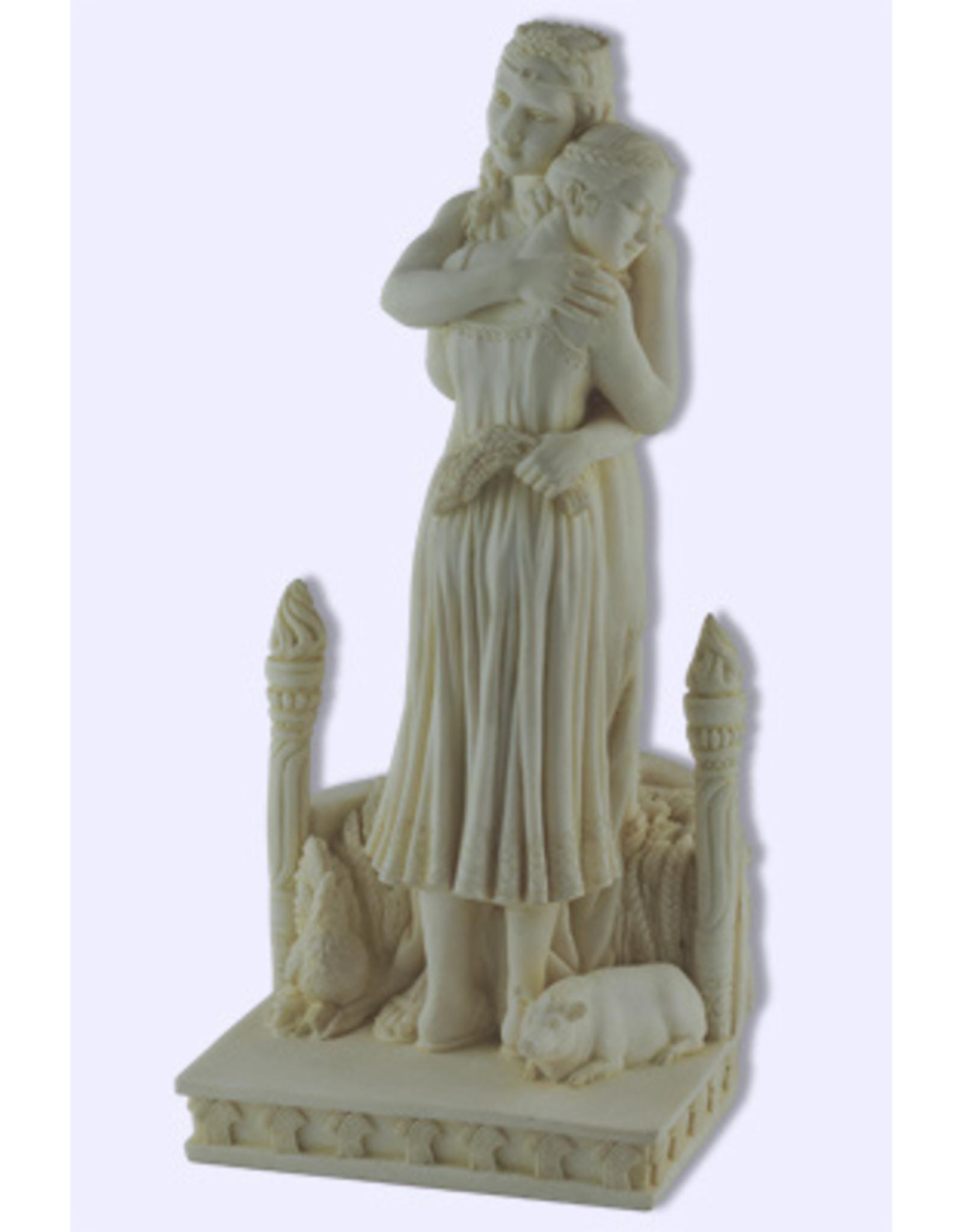 Demeter Hugging Persephone Statue