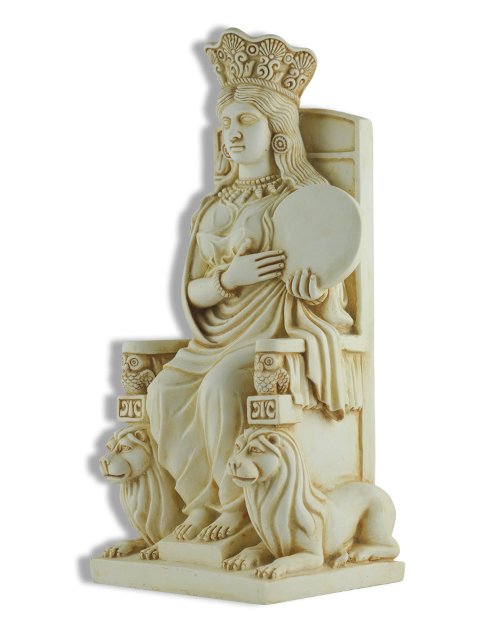 Cybele Enthroned Statue