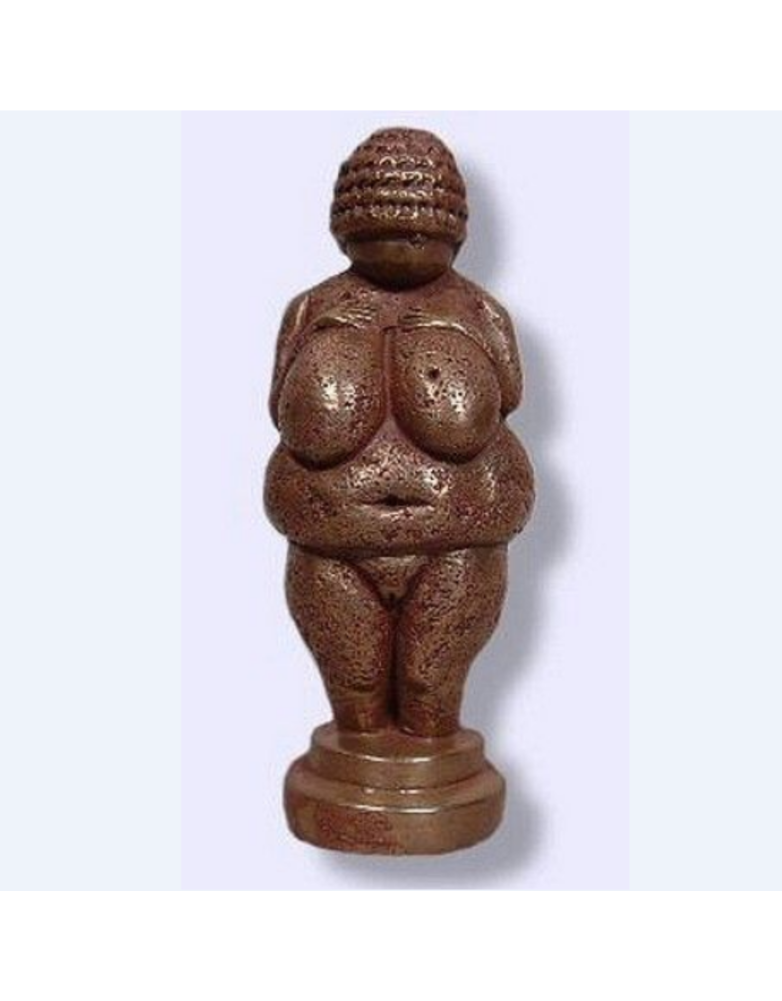 Venus of Willendorf Statue in Cold Cast Bronze