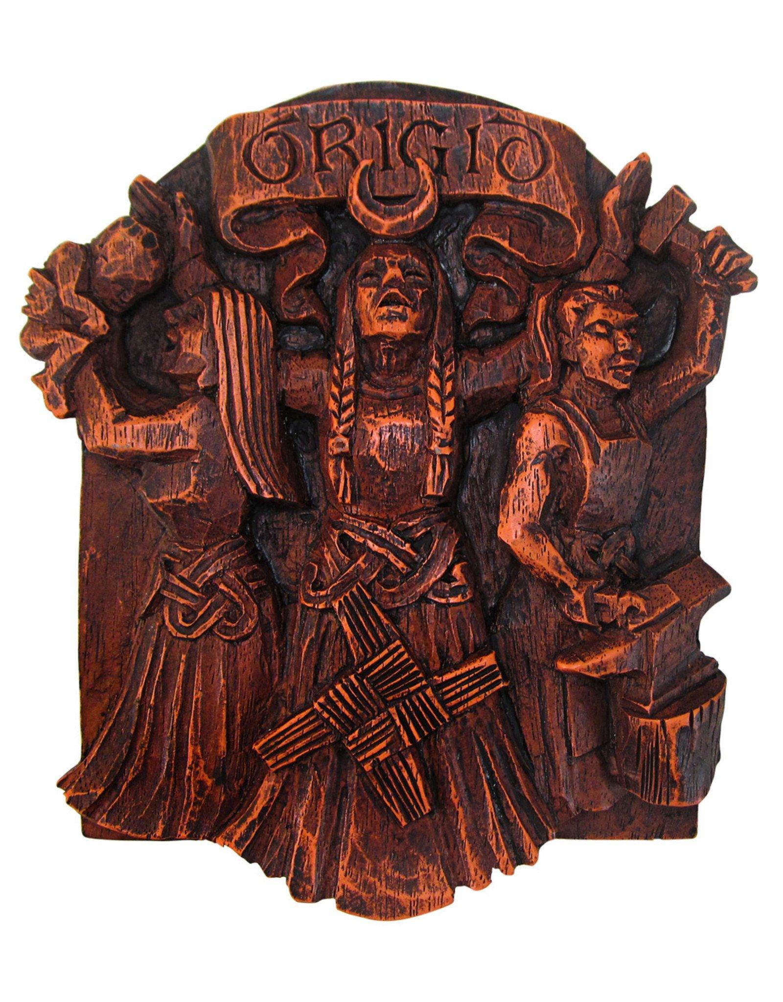 Brigid Plaque in Wood Finish