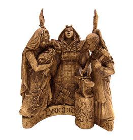 Brigid Statue in Wood Finish