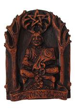 Cernunnos Plaque in Wood Finish