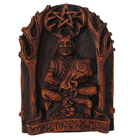 Cernunnos Plaque in Wood Finish