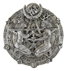 Great Rite Pentacle Plaque in Silver Finish