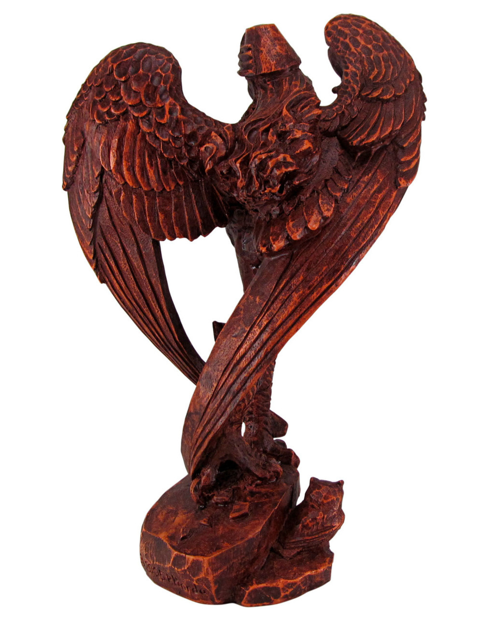 Lilith Statue in Wood Finish