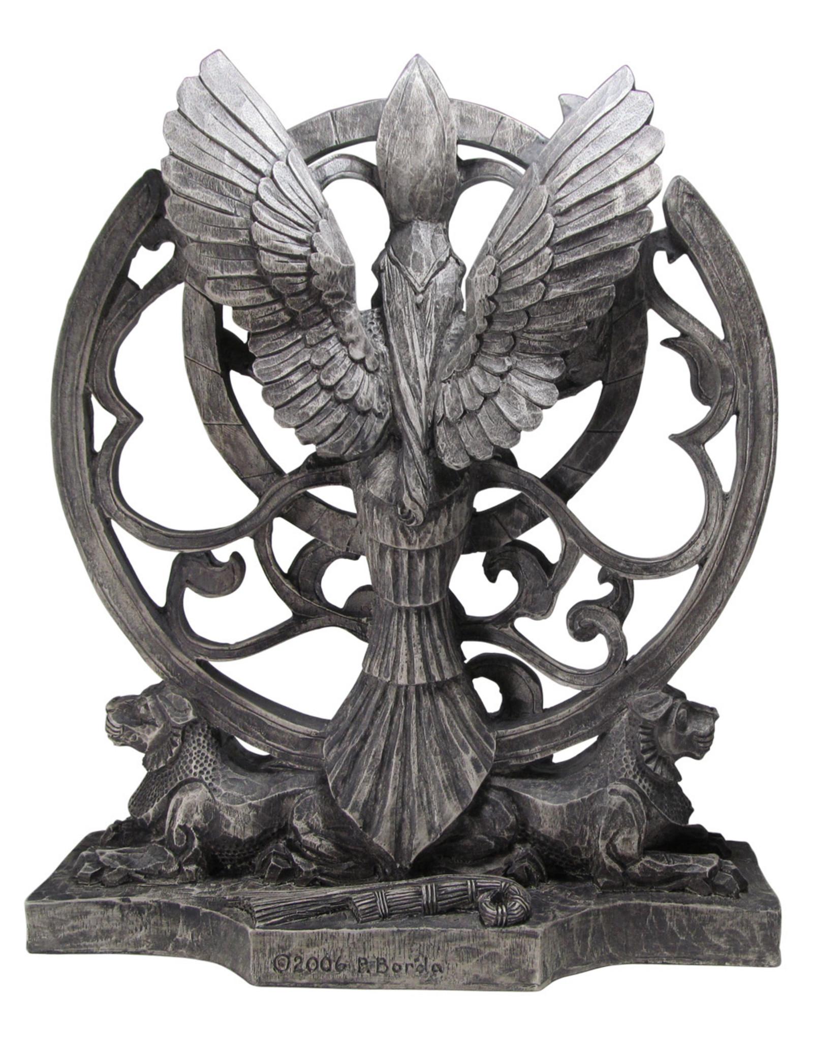 Queen of Heaven Statue in Stone Finish