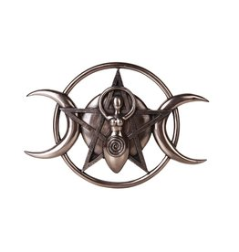 Spiral Triple Goddess Plaque