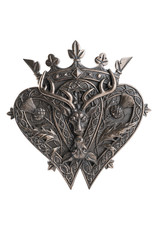Luckenbooth Plaque in Cold Cast Bronze