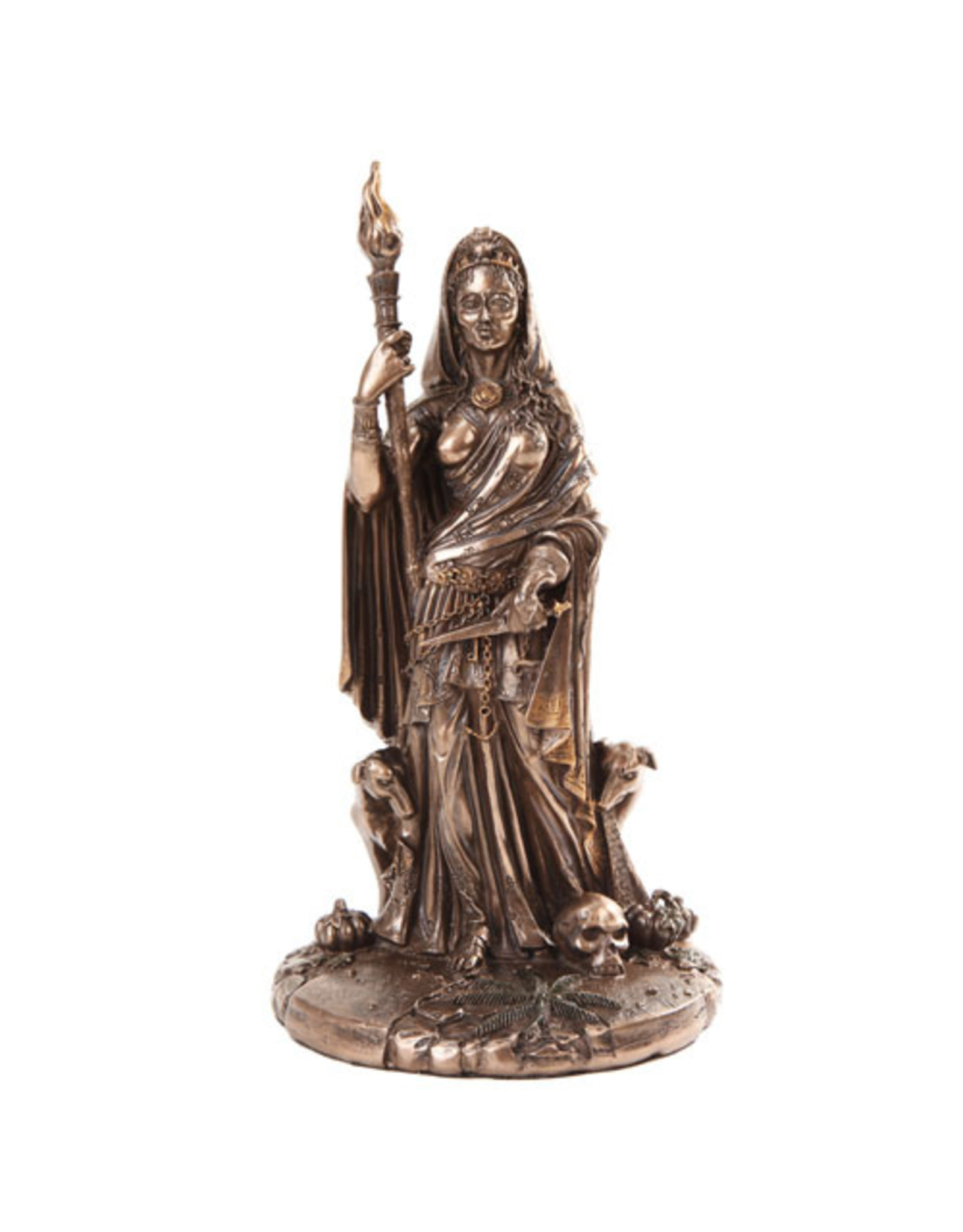 Hecate Statue in Cold Cast Bronze