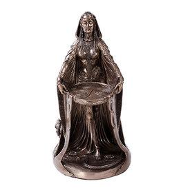 Danu Goddess Statue in Cold Cast Bronze