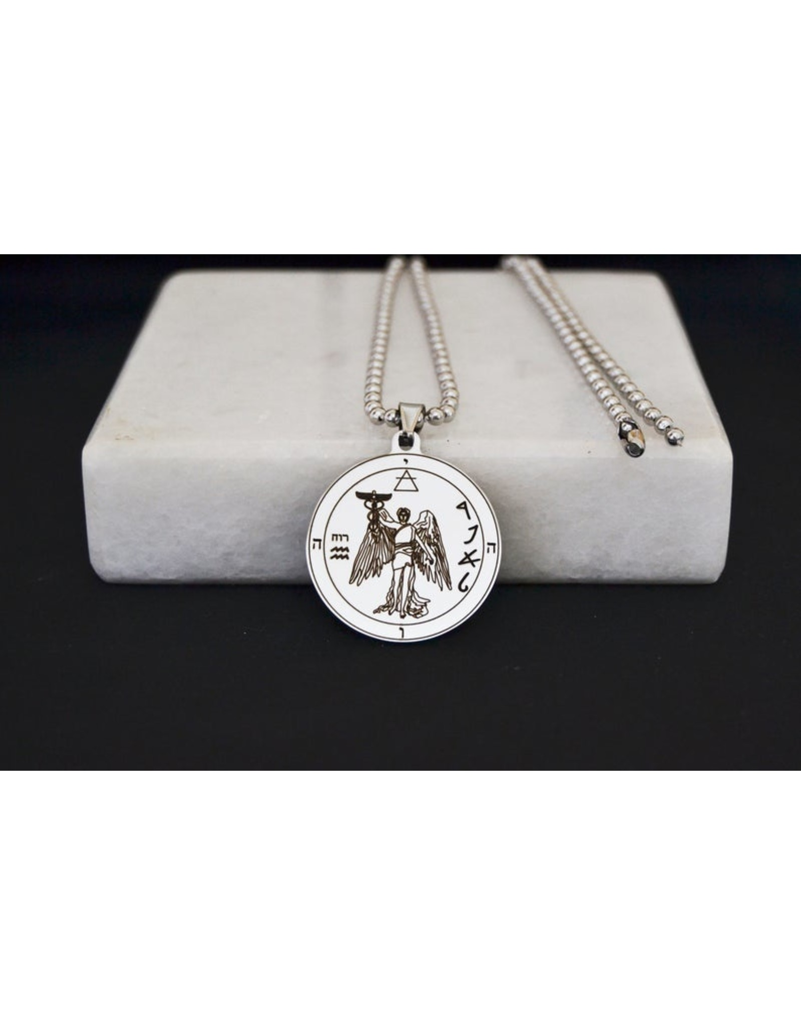 Archangel Raphael Image Pendant