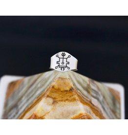 Goetic Spirit Vassago Ring size 9