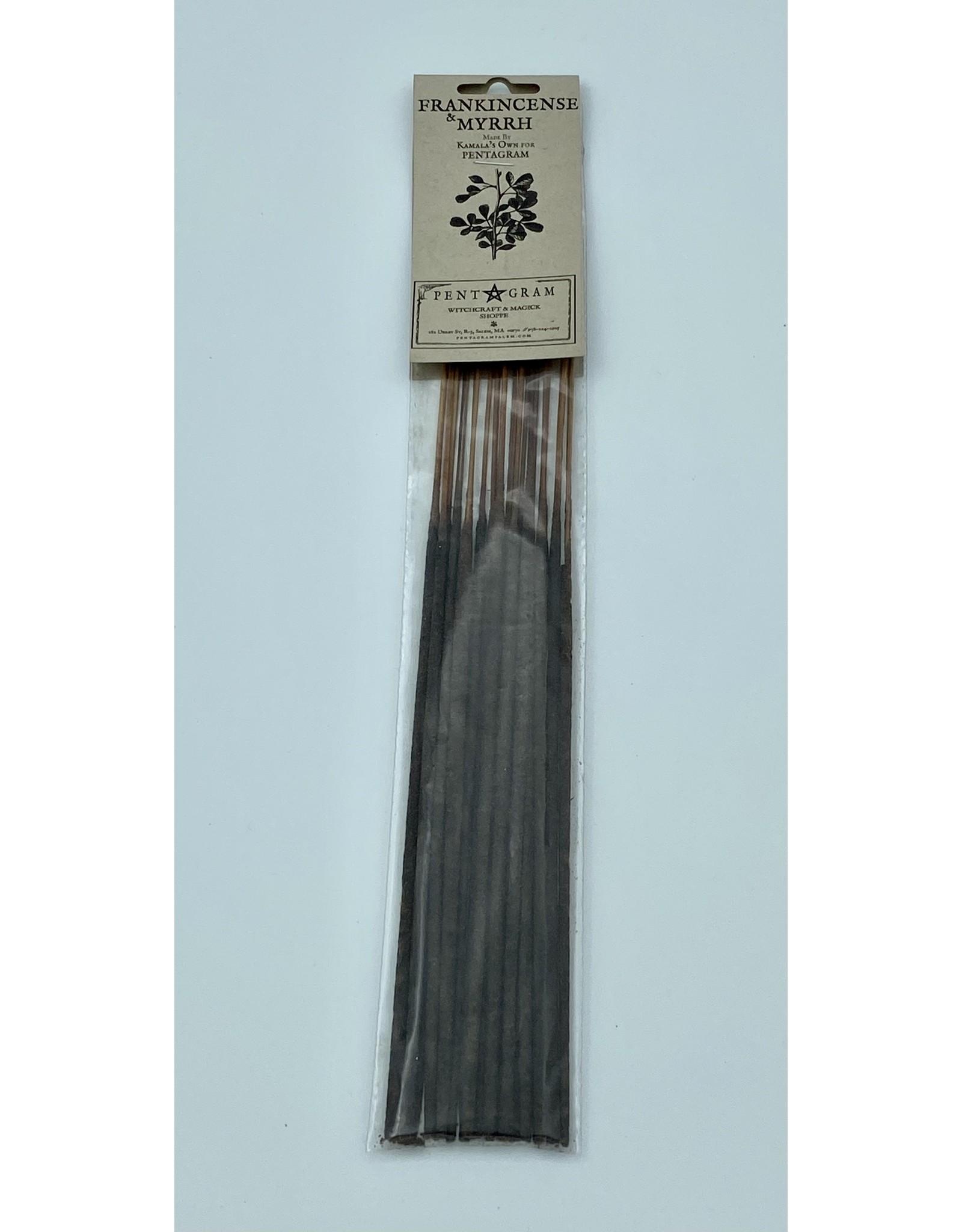 Frankincense & Myrrh Stick Incense
