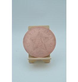 Tetragrammaton Altar Disk 6 inch Copper
