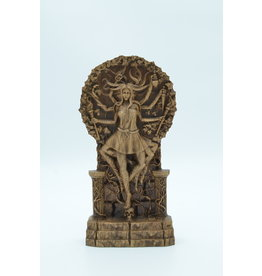 Wood Carved Hecate Statue