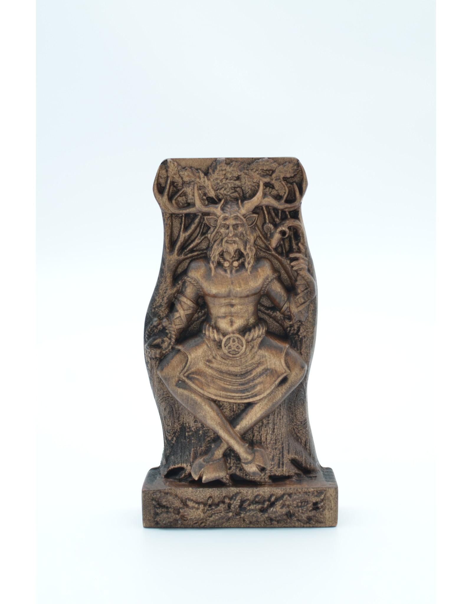 Cernunnos Wooden Statue