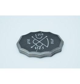 Mars Kamea Pendulum Board in Black and Lead