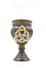 Triquetra Goblet in Earth Tone