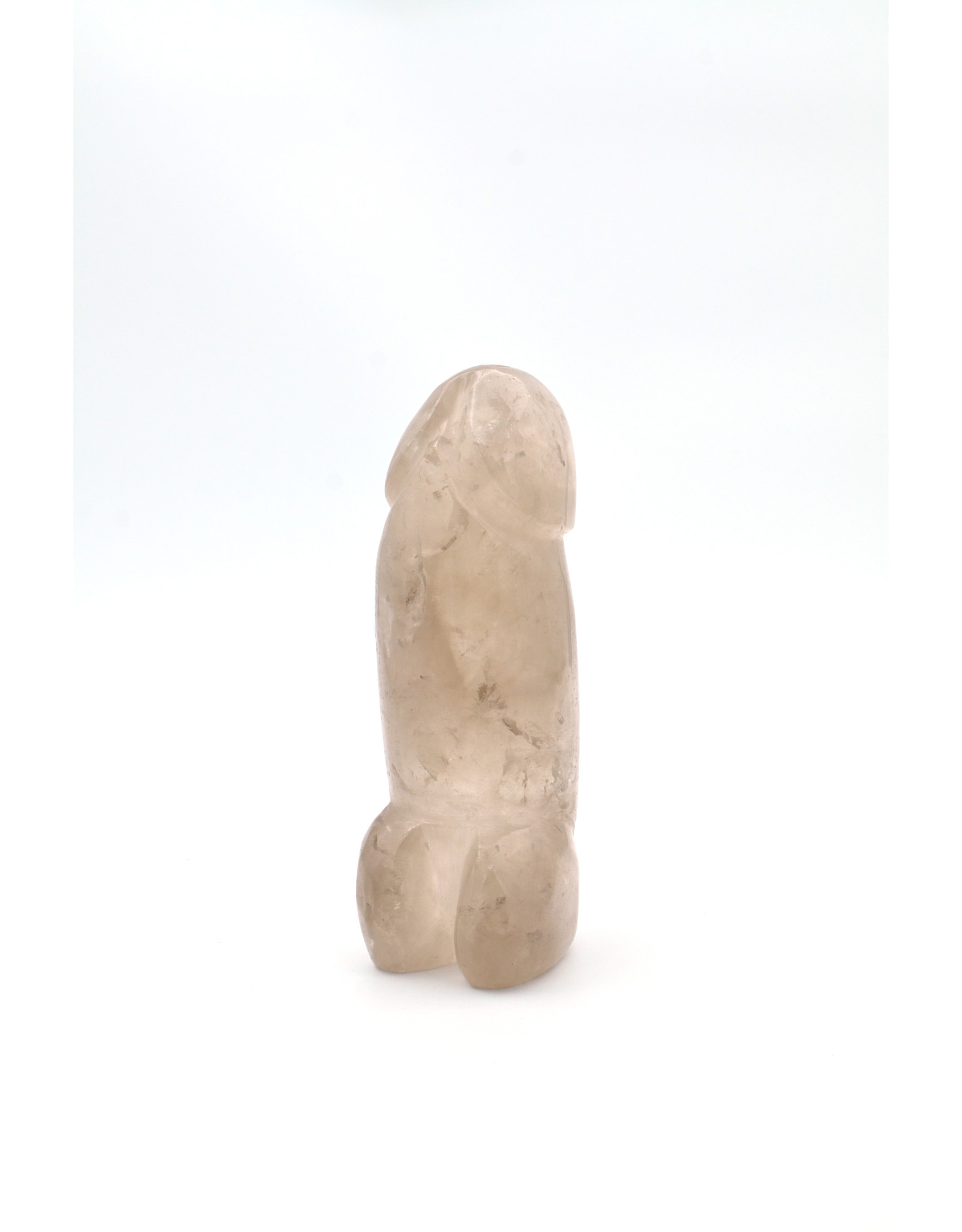 Thick Smoky Quartz Phallus 7.25 inches