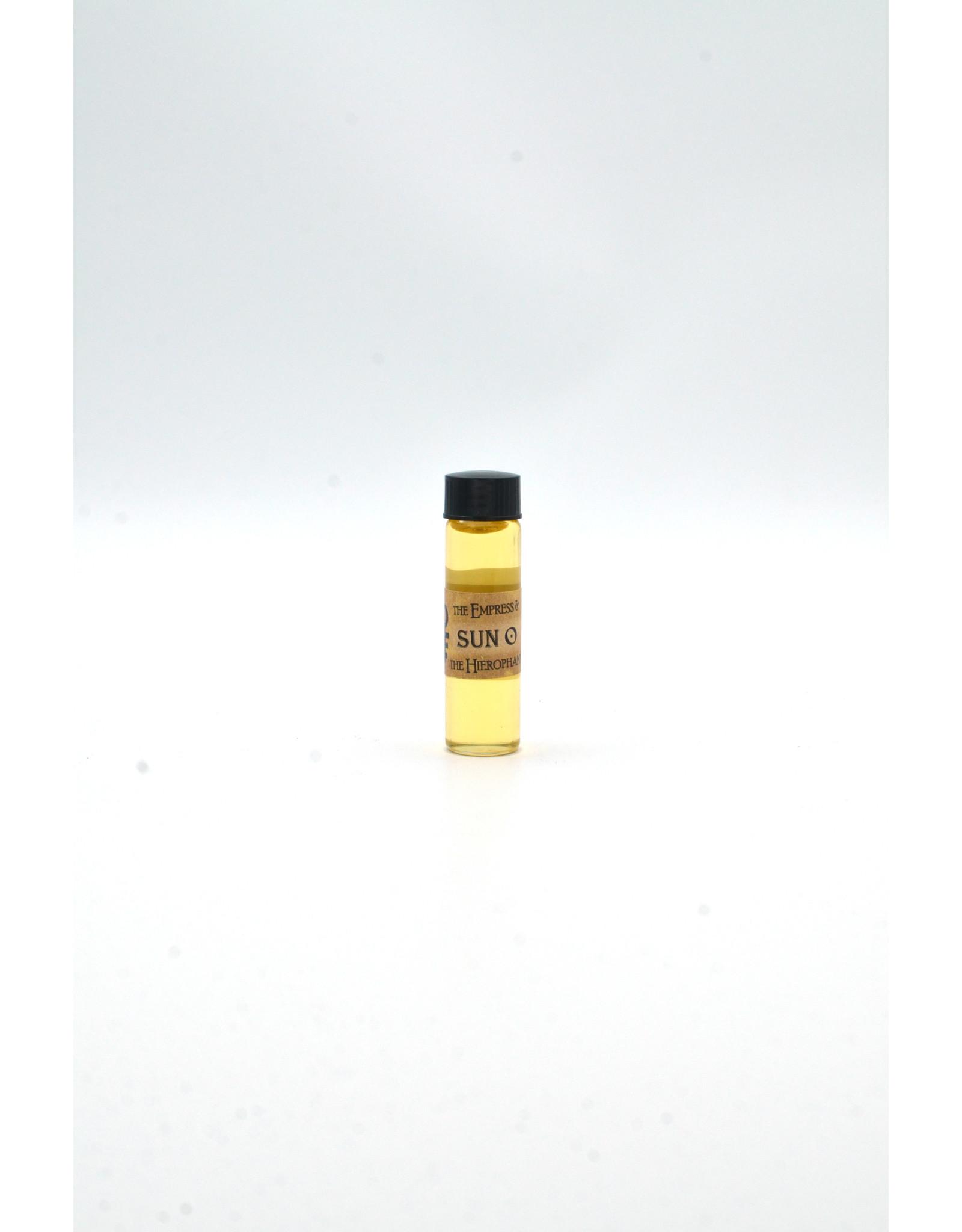 Sun Planetary Magickal Oil 2 Dram Bottle