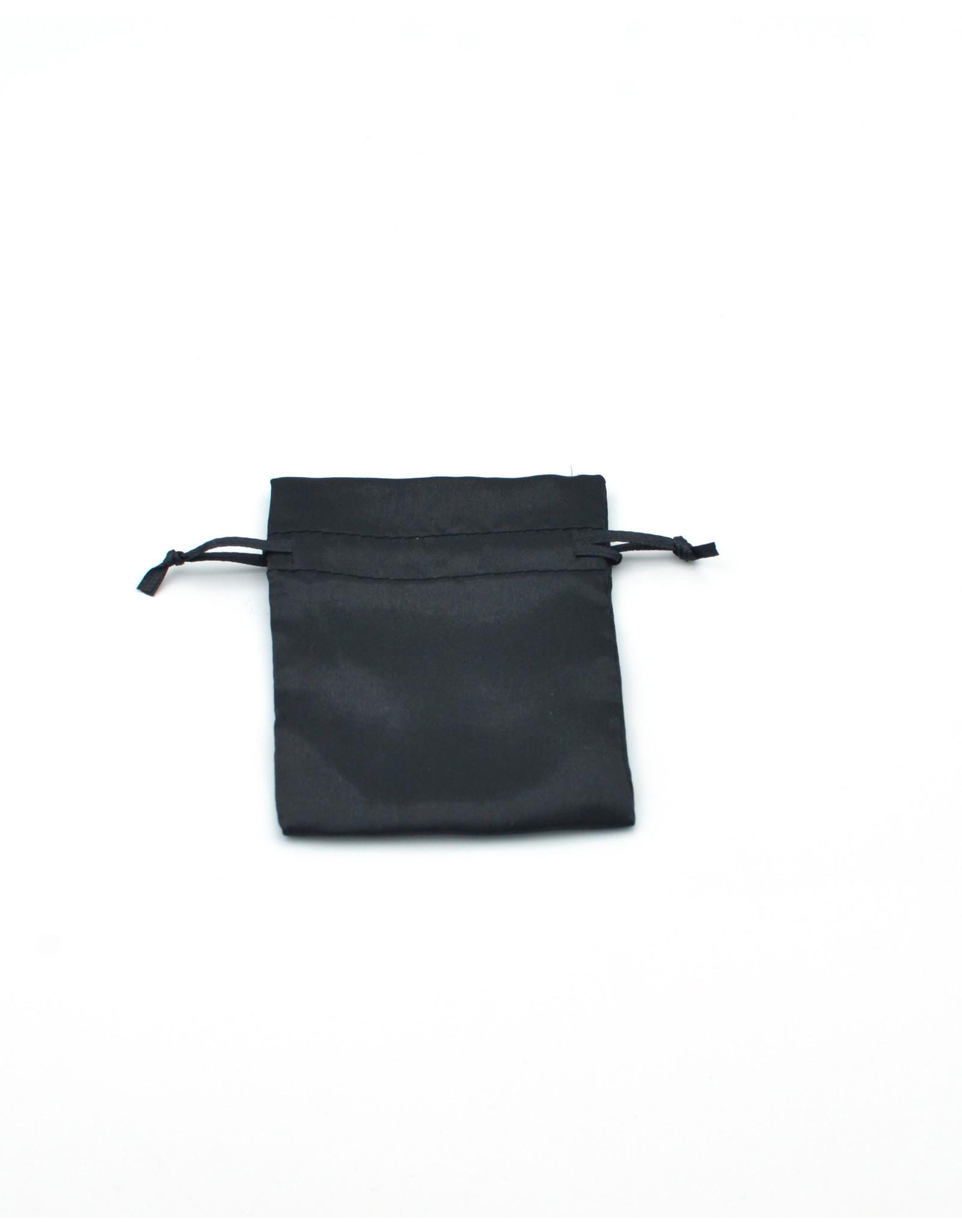 Black Saturn Charm Bag