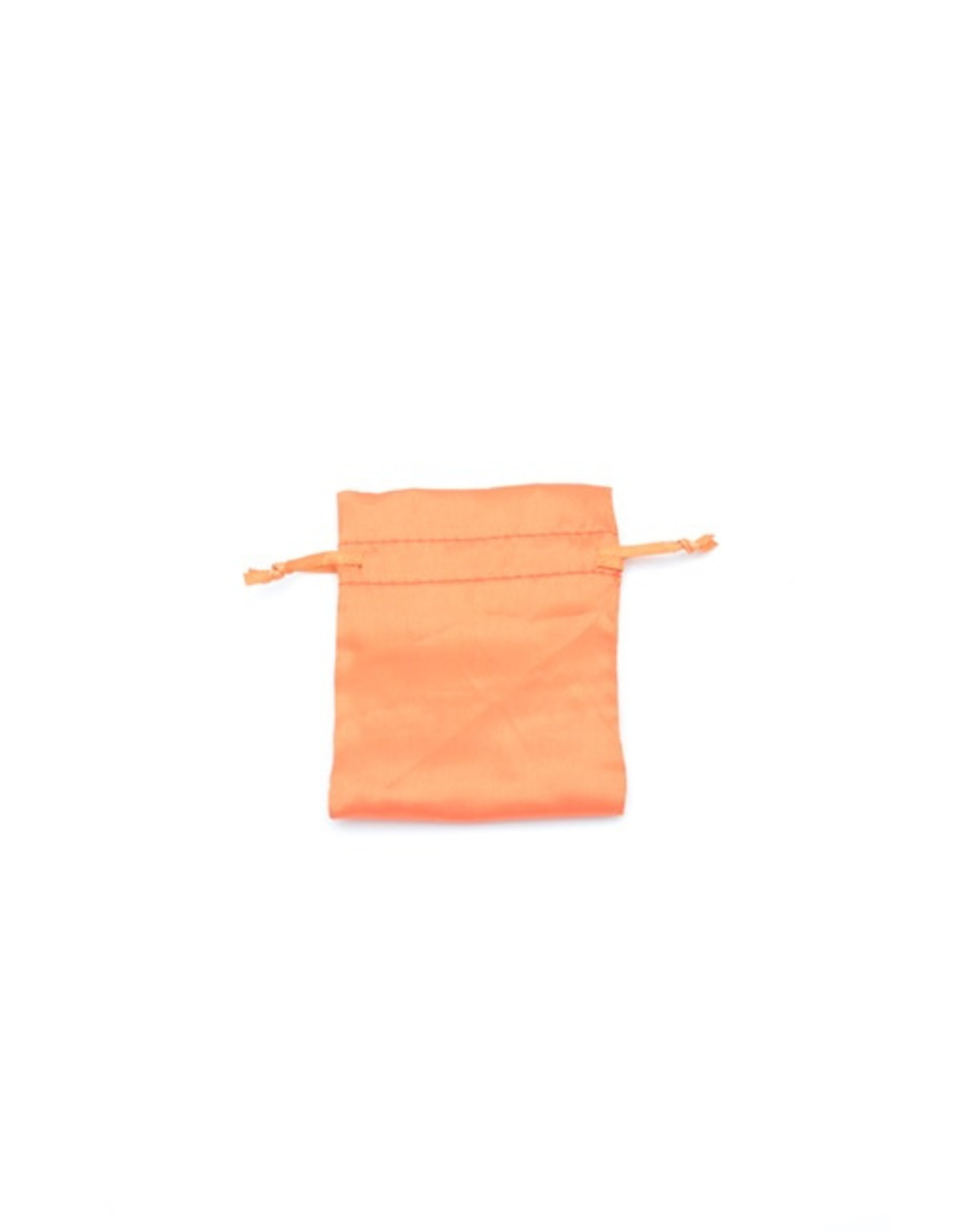Orange Mercury Charm Bag