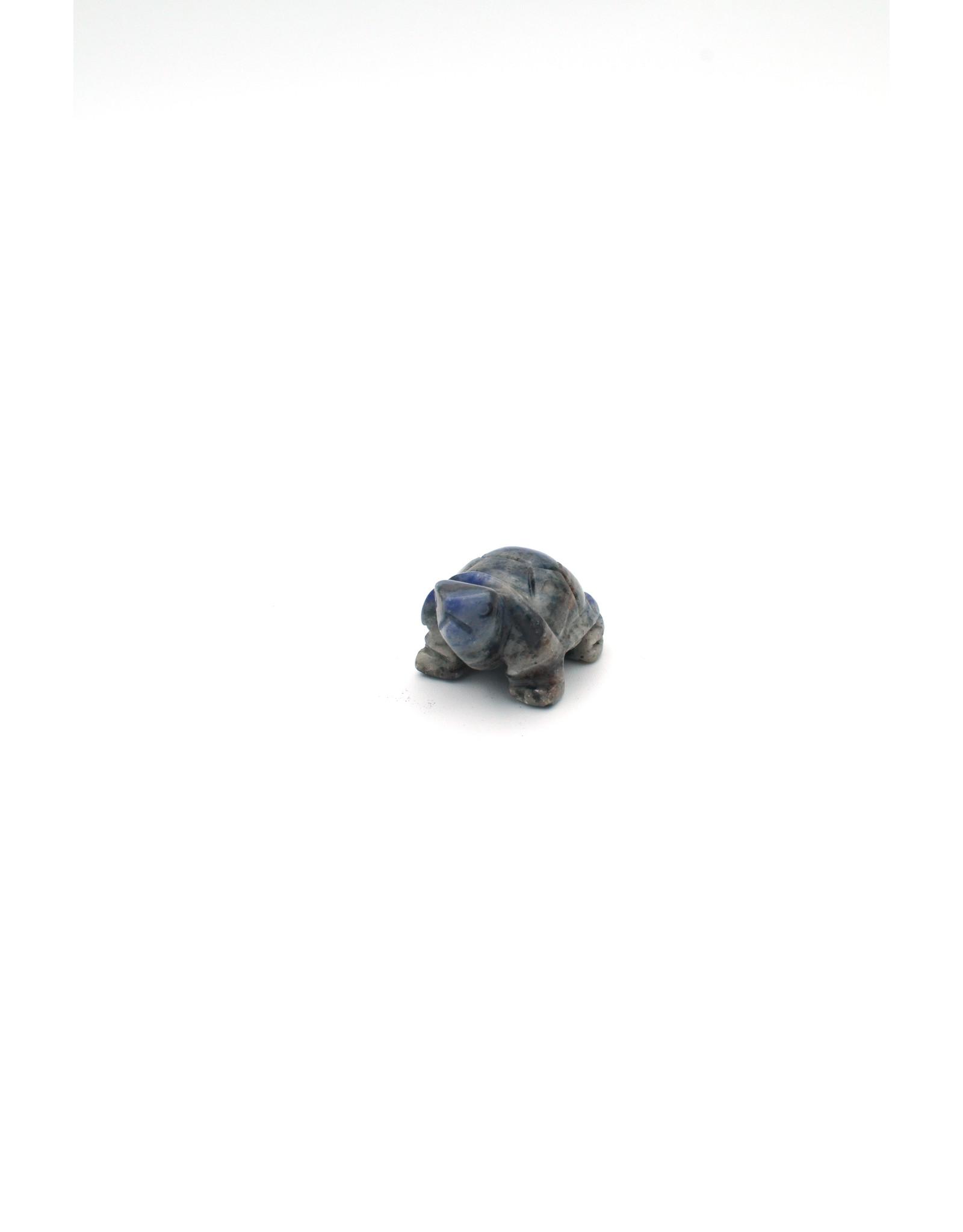 Turtle Totem in Stone
