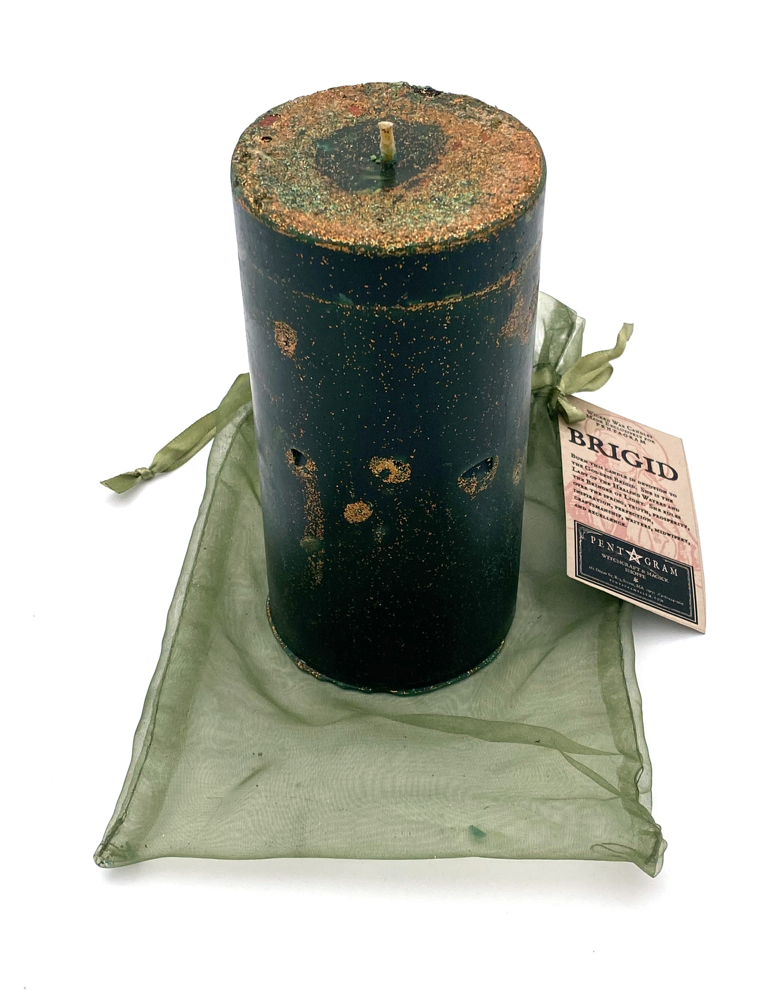 Brigid Handmade Candle