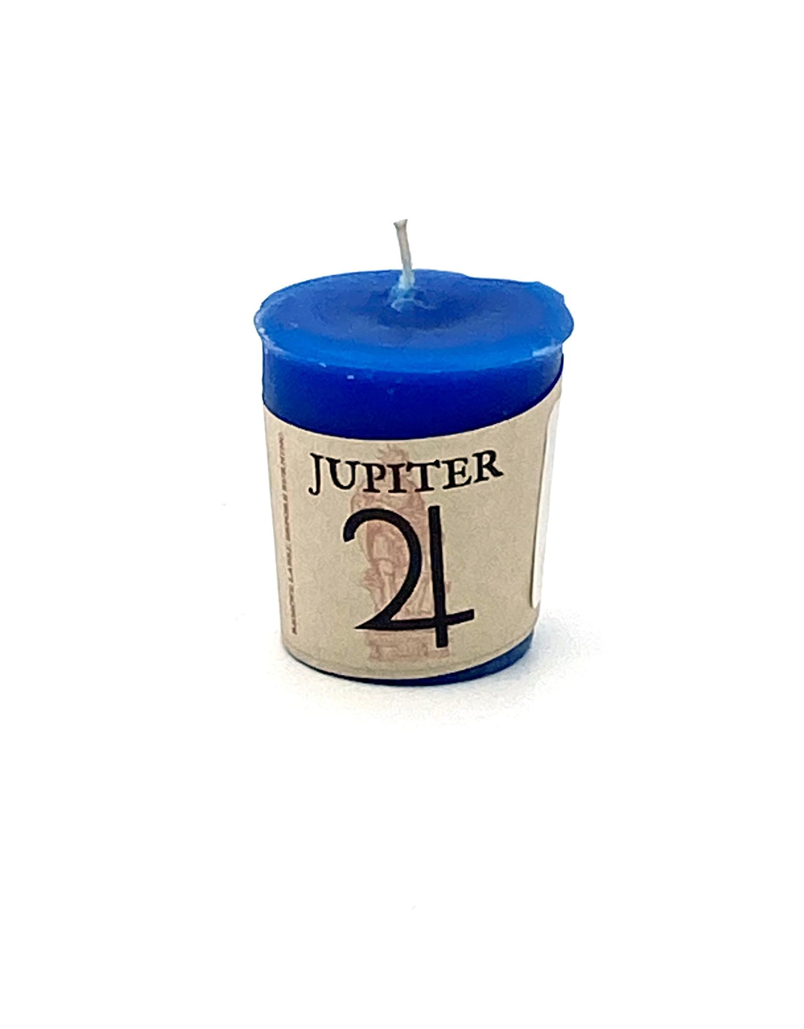Jupiter Votive Candle