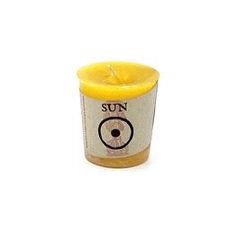 Sun Votive Candle