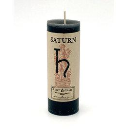 Saturn Pillar Candle