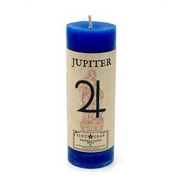 Jupiter Pillar Candle