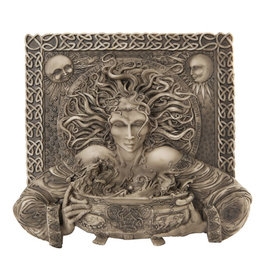 Cerridwen Cold Cast Bronze Finish Plaque