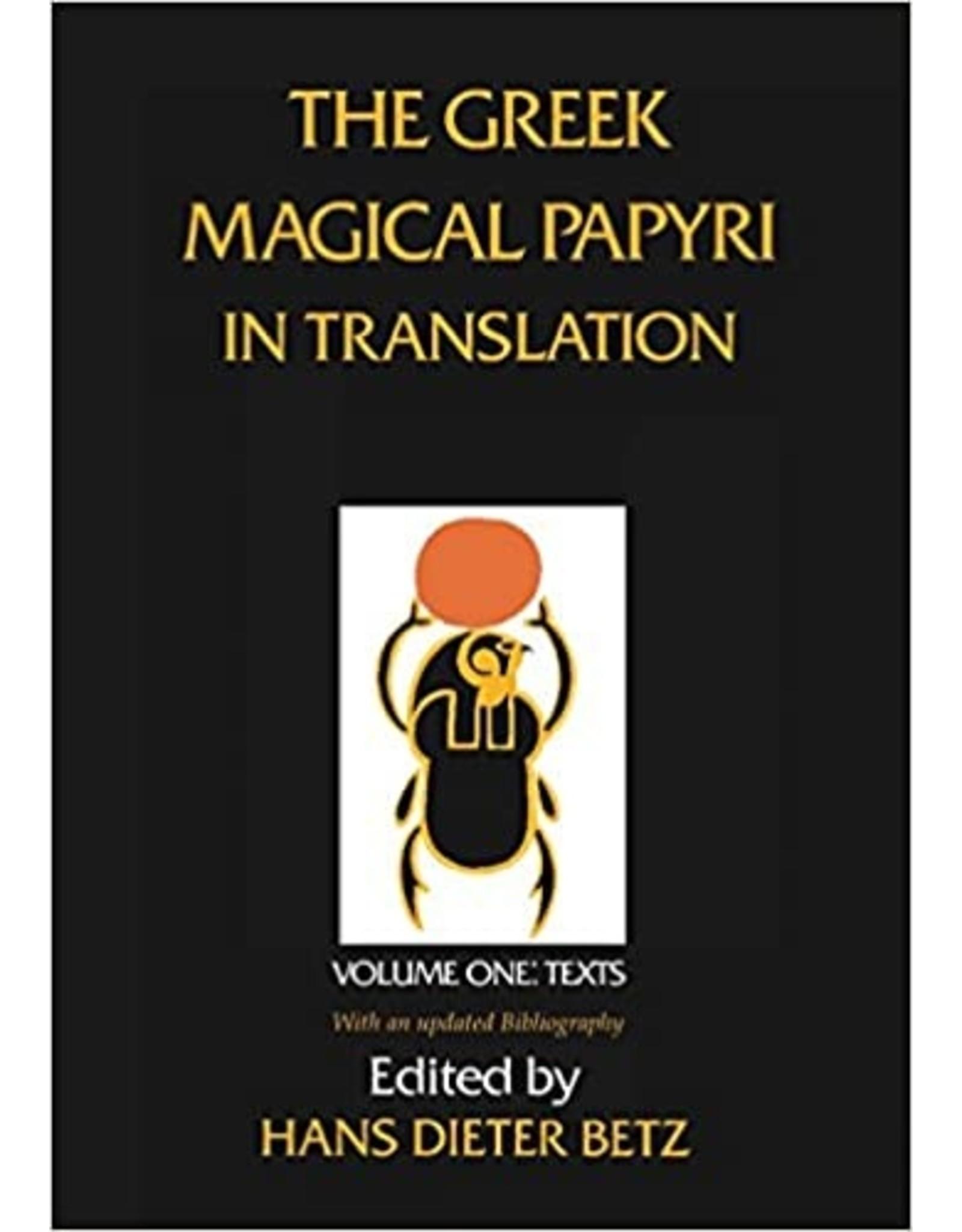 The Greek Magical Papyri in Translation