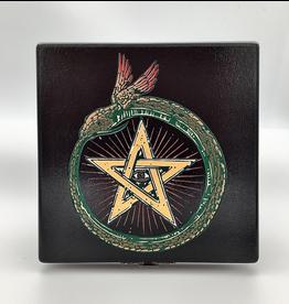 Ouroboros Black Altar Box